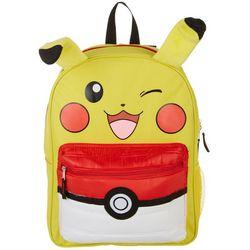 Pokemon Kids Pikachu Pokeball Backpack