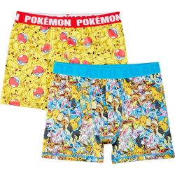 Pokemon Boys 2-pk. Boxer Briefs