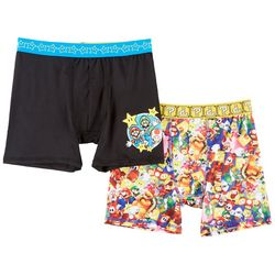 Super Mario Brothers Big Boys 2-pk. Boxer Briefs