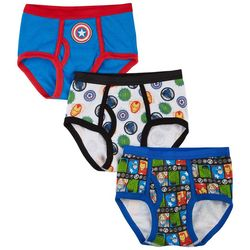 Marvel Avengers Little Boys 3-pk. Briefs