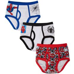 Marvel Spider-Man Little Boys 3-pk. Briefs