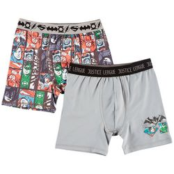 DC Comics Justice League Big Boys 2-pk. Boxers