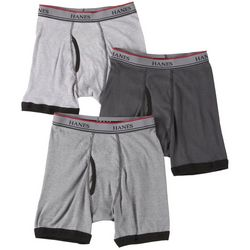 Hanes Boys 3-pk. Platinum Trim Boxer Briefs