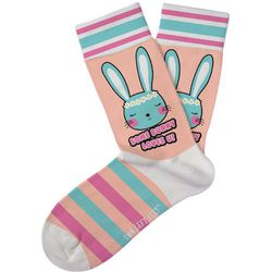 Two Left Feet Girls Some Bunny Loves You Socks
