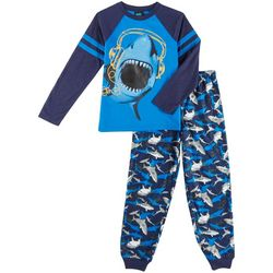 Jelli Fish Inc. Little Boys Shark Pajama Set