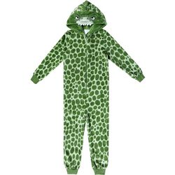 Jelli Fish Inc. Big Boys Dinosaur Sleeper Pajamas