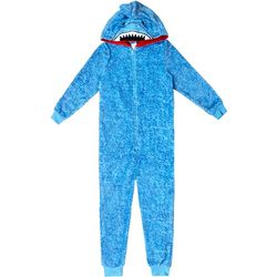 Jelli Fish Inc. Big Boys Shark Sleeper Pajamas