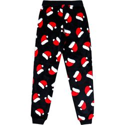 Jelli Fish Inc. Big Boys Santa Hat Jogger Pajama Pants