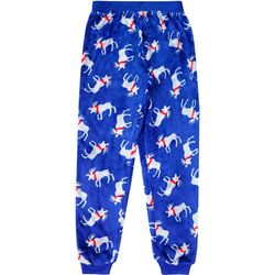 Jelli Fish Inc. Little Boys Moose Jogger Pajama Pants