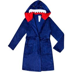 Jelli Fish Inc. Little Boys Shark Robe