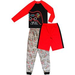 Jelli Fish Inc. Big Boys 3-pc. Next Level Gamer Pajama Set