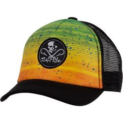 Salt Life Boys Electric Skull Trucker Hat