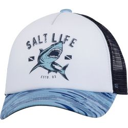 Salt Life Boys  Camo Shark Trucker Hat