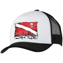 Salt Life Boys Diving Flag Trucker Hat