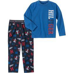 Tommy Hilfiger Big Boys 2-pc Logo Pajama Pants Set