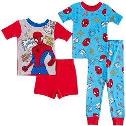 Marvel Spider-Man Toddler Boys 4-pc. Spidry Sense Pajama Set