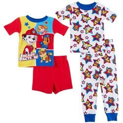 Nickelodeon Paw Patrol Toddler Boys 4-pc. Stars PJ Set