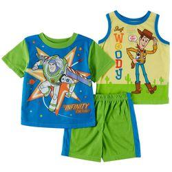 Disney Toy Story Toddler Boys 3-pc. Buzz &