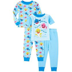 Baby Shark Toddler Boys 4-pc. Singing Pajama Set