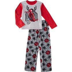 Spider-Man Big Boys 2-pc. Graphic Print Fleece Pajama Set