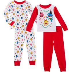 Pinkfong Toddler Boys 4-pc. Baby Shark Pajama Set