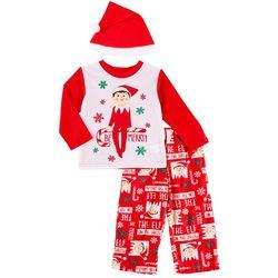 Elf on the Shelf Toddler Boys 3-pc. Be Merry Pajama Set