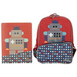 Little JJ Cole Boys Robot Backpack