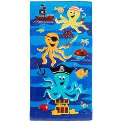 Katy Keen Kids Pirate Octopus Beach Towel
