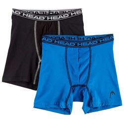 Head Big Boys 2-pk. Boxer Briefs