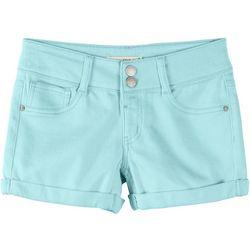 Vanilla Star Little Girls Colored Denim Shorts