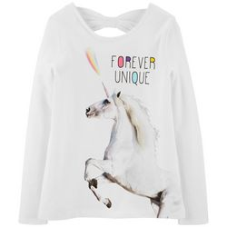 Carters Little Girls Forever Unique Long Sleeve T-Shirt