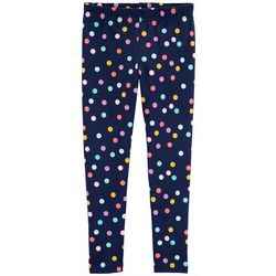 Carters Little Girls Polka Dot Print Pull-On Leggings