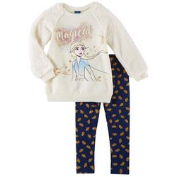 Disney Frozen Little Girls 2-pc. Magical Leggings Set
