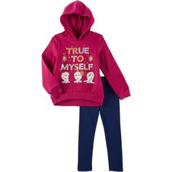 Disney Frozen II Little Girls True To Myself Hoodie Set