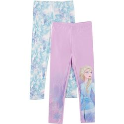 Disney Frozen II Big Girls 2-pk. Elsa Leggings