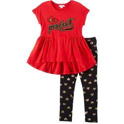 Flapdoodles Little Girls 2-pc. Perfect Leggings Set