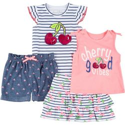 Freestyle Little Girls 4-pc. Cherry Set