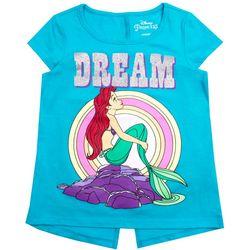Disney Little Mermaid Little Girls Dream T-Shirt