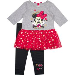 Disney Minnie Mouse Little Girls Sweet Like Sugar Tunic Set