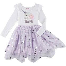Nannette Little Girls 3D Unique Unicorn Dress