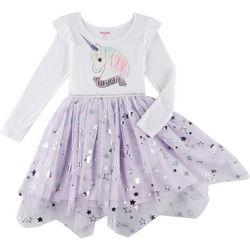 Nannette Little Girls 3D Unique Unicorn Dress