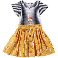 Nannette Little Girls No Probllama Sundress