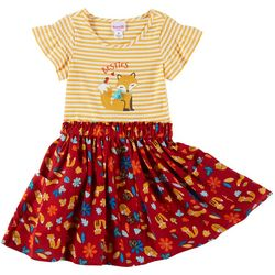 Nannette Little Girls Fox Pocket Sundress