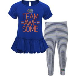 Florida Gators Little Girls Team Awesome Set by Outerstuff