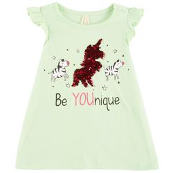 Love @ First Sight Little Girls Be Youique Sequined Top