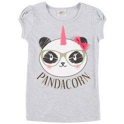 Knitworks Little Girls Pandacorn T-Shirt