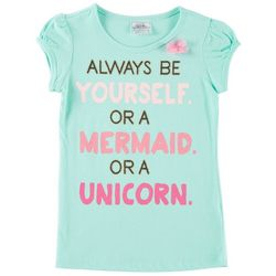 Beautees Little Girls Always Be Yourself T-Shirt