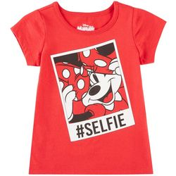 Disney Minnie Mouse Little Girls #Selfie Top