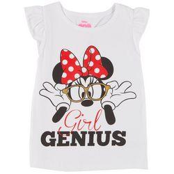 Disney Minnie Mouse Little Girls Girl Genius T-Shirt