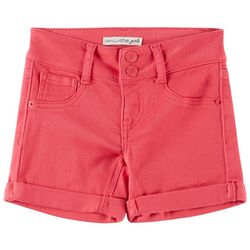 Vanilla Star Little Girls Solid Denim Shorts